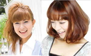 左:石黒彩オフィシャルブログより/右:保田圭オフィシャルブログより