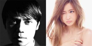 左:大沢伸一公式Twitterより/右:紗栄子オフィシャルウェブサイトより