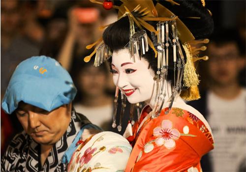 花魁はカッコいいけれど…… Photo by MIKI Yoshihito from Flickr