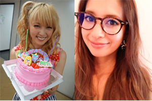 左:E-girlsオフィシャルブログより/右:吉川ひなのオフィシャルブログより