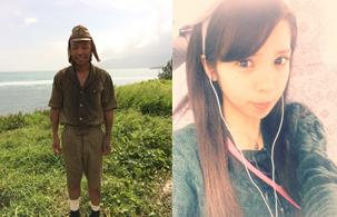左:バイキング小峠オフィシャルブログより/右:坂口杏里オフィシャルブログより
