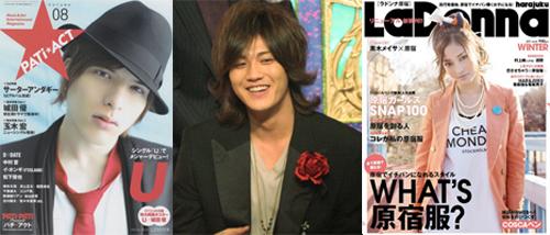 左:『PATi★ACT Vol.8』ソニー・マガジンズ/右:『LaDonna harajuku vol.04』無双舎