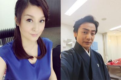 左:藤原紀香オフィシャルブログより/右:片岡愛之助オフィシャルブログより