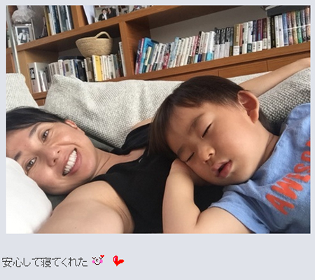 東尾理子オフィシャルブログより