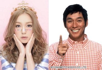 左:西野カナオフィシャルブログより、右:吉本興業株式会社HPより