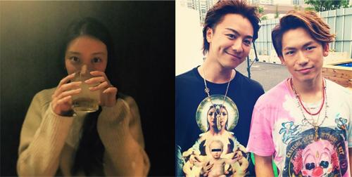 左:森カンナInstagramより/右:EXILE NAOTO Instagramより