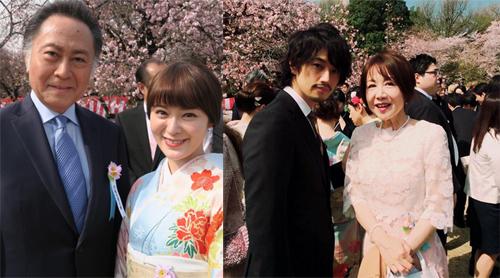 左:貫地谷しほりオフィシャルブログより/右:奈美悦子Instagramより