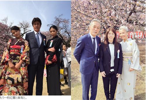 左:草刈正雄オフィシャルブログより/右:吉田沙保里Twitterより