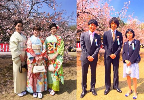 左:ホラン千秋オフィシャルブログより/右:渡辺裕太オフィシャルブログより
