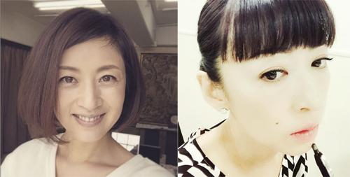 左:高岡早紀Instagramより/右:松雪泰子Instagramより
