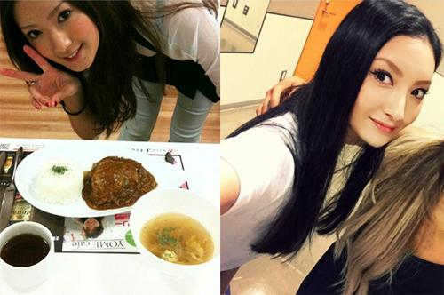左:菜々緒オフィシャルブログより(2010年12月28日)/:菜々緒Instagramより(2016年6月15日)