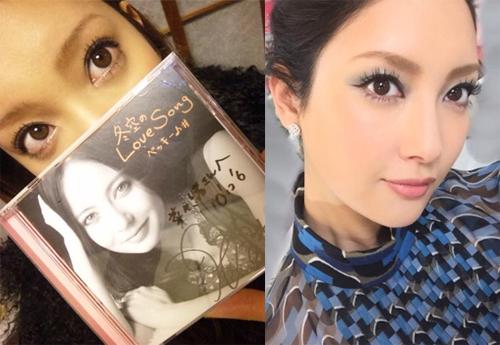 左:菜々緒オフィシャルブログより(2010年12月6日)/:菜々緒Instagramより(2016年4月28日)