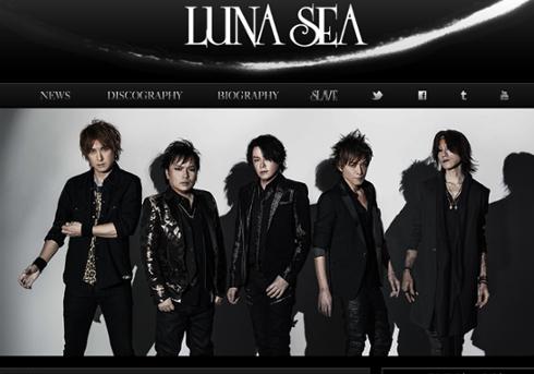 LUNA SEA オフィシャルウェブサイトより