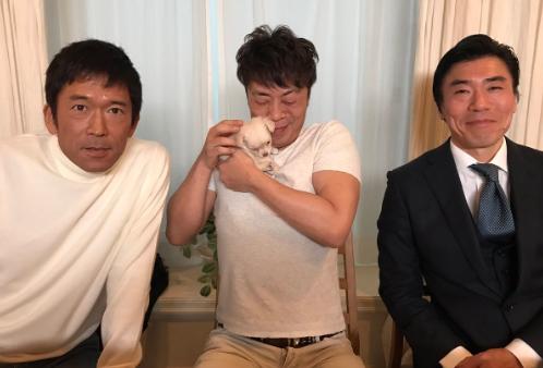沢井和也Twitterより 真ん中:大島丈さん 右・田淵正浩さん ベテラン揃い!!