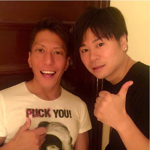 パイセン黒田悠斗さんと。 小田切ジュンTwitterより