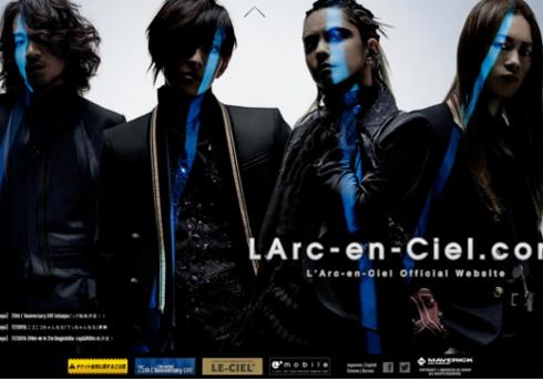 LArc-en-Ciel.com より