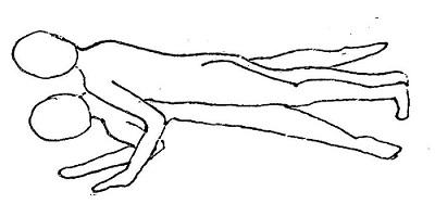 こんな感じ。女性が足を閉じるverもグー!