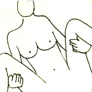 上から見た図(男性目線)