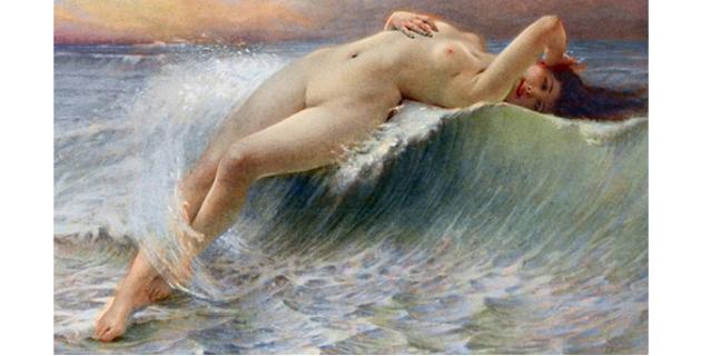 「聖水プレイ」の魅力、ビラビラの神秘的な動きにハマる男性も