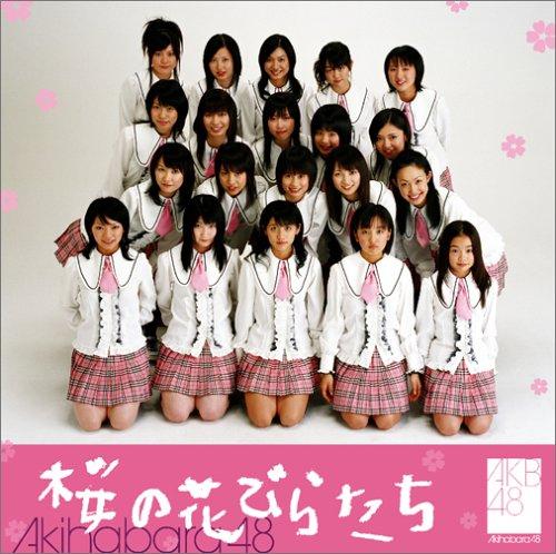 デビュー当時の板野『桜の花びらたち』