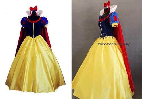 「<ウェブエッセンス>白雪姫コスプレ ディズニー 出典:amazon