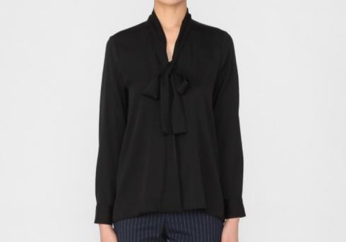 2054700 ボウタイシルクシャツ バーニーズ ニューヨーク (BARNEYS NEW YORK) ウィメンズ 公式通販 バーニーズ ニューヨークより http://onlinestore.barneys.co.jp/shop/women/item/view/shop_product_id/85965