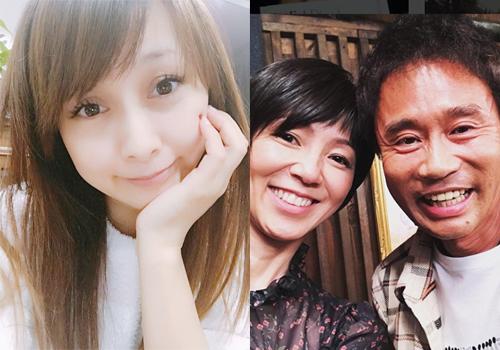 左:渡辺美奈代オフィシャルブログより 右:渡辺満里奈Instagramより