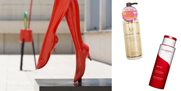 足のむくみやセルライトを「塗って・履いて」撃退できるアイテム!