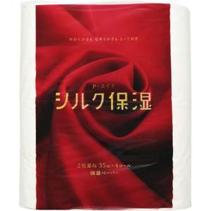 「ピーエイド シルク保湿トイレット 35M 4ロール ダブル」 出典:amazon
