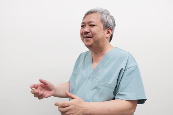 患者さんが喜んでくれるのが一番うれしい、と本田医師