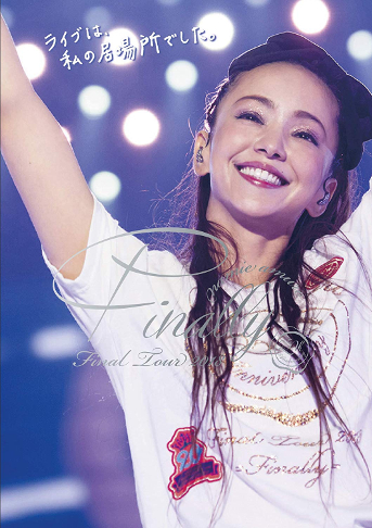 Amazonより(namie amuro Final Tour 2018 ~Finally~)