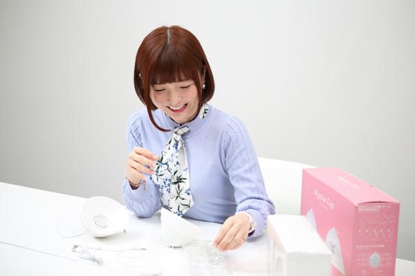 乳首でイキッぱなしを実現!! 快感を味わいつくすチクニー専用「ニップルカップ」を佐倉絆ちゃんがレビュー!の画像4