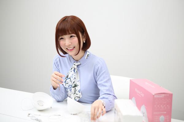乳首でイキッぱなしを実現!! 快感を味わいつくすチクニー専用「ニップルカップ」を佐倉絆ちゃんがレビュー!の画像3
