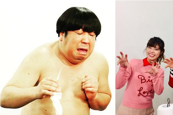 神田愛花はバナナマン日村に馬乗りで強引キス!? クリに癒されるほどのストレスも…の画像1